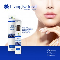 CREMA ANTIAGE AL COLLAGENE MARINO LIVING NATURAL